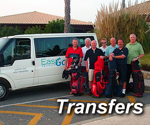 Airport & Golf Transfers from Algarve Golf